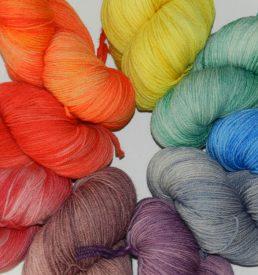 Merino Wool 3-ply Fingering Weight Yarn