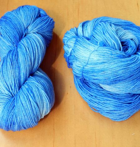 It Is Blue Fingering Weight Yarn